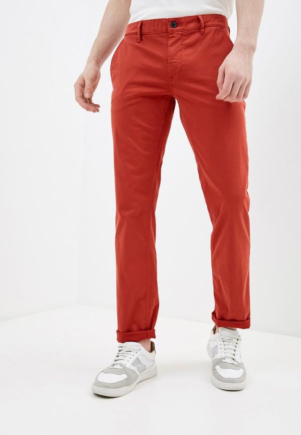 мужские брюки чинос boss, красные