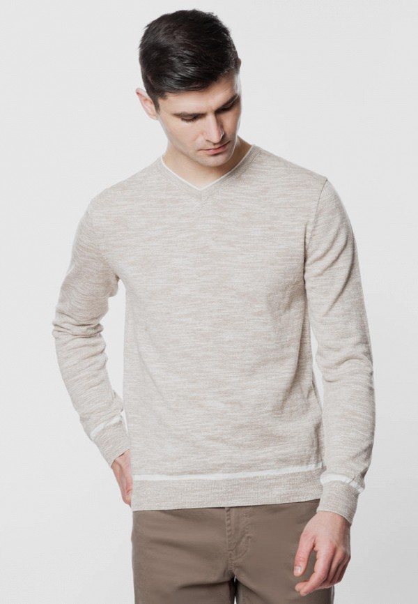 мужской пуловер arber, бежевый