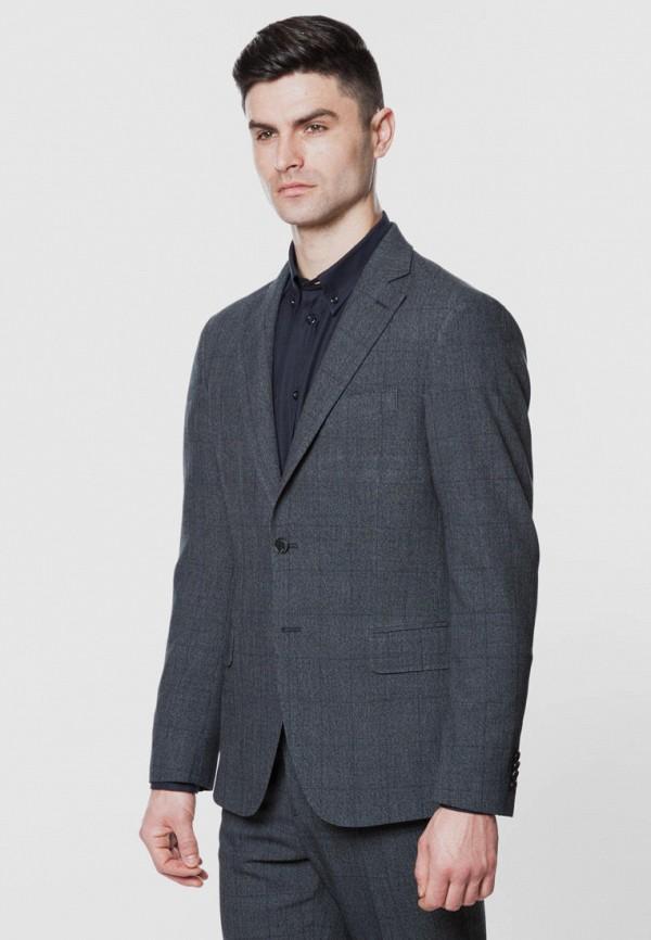 мужской костюм arber, серый