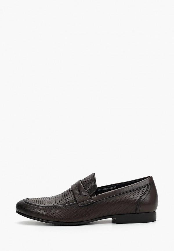 мужские туфли thomas munz, коричневые