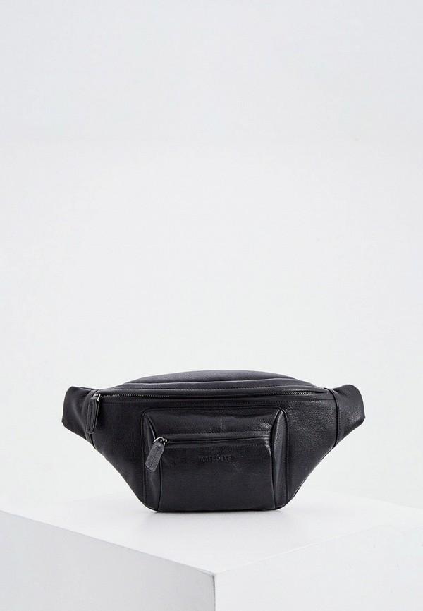 мужская поясные сумка mascotte, черная
