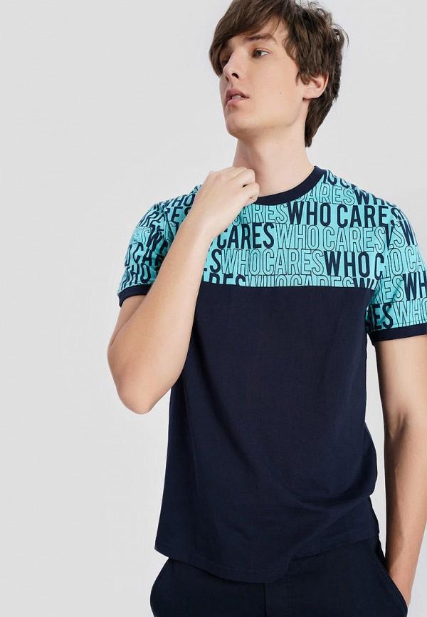 мужская футболка с коротким рукавом o'stin, черная