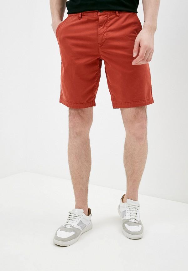 мужские повседневные шорты boss, оранжевые