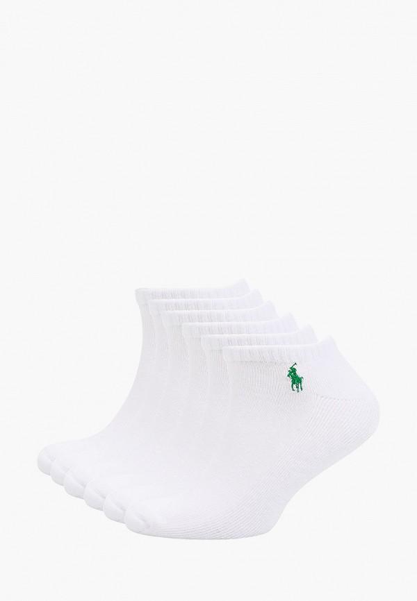 Носки 6 пар Polo Ralph Lauren белого цвета
