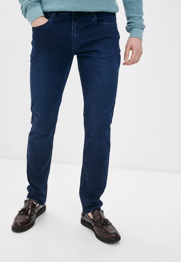 мужские зауженные джинсы henderson, синие