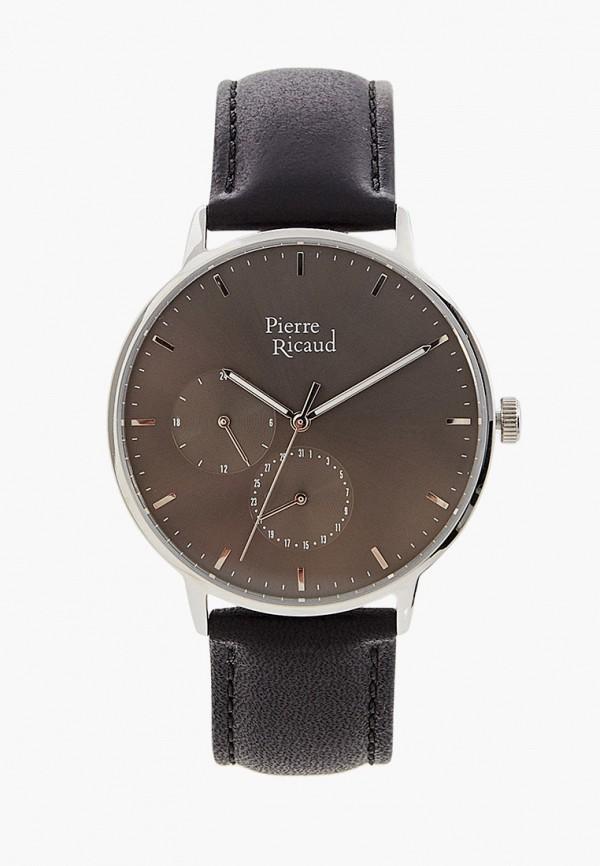 мужские часы pierre ricaud, черные