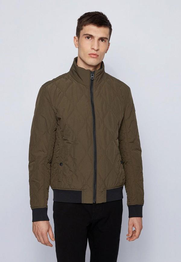 мужская утепленные куртка boss, хаки