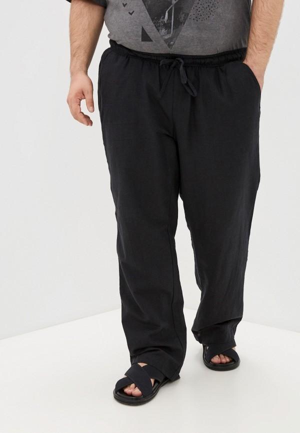 мужские брюки джоггеры naviator, черные
