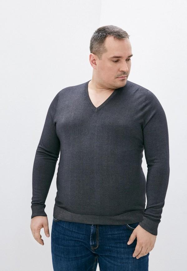 мужской пуловер falconeri, серый