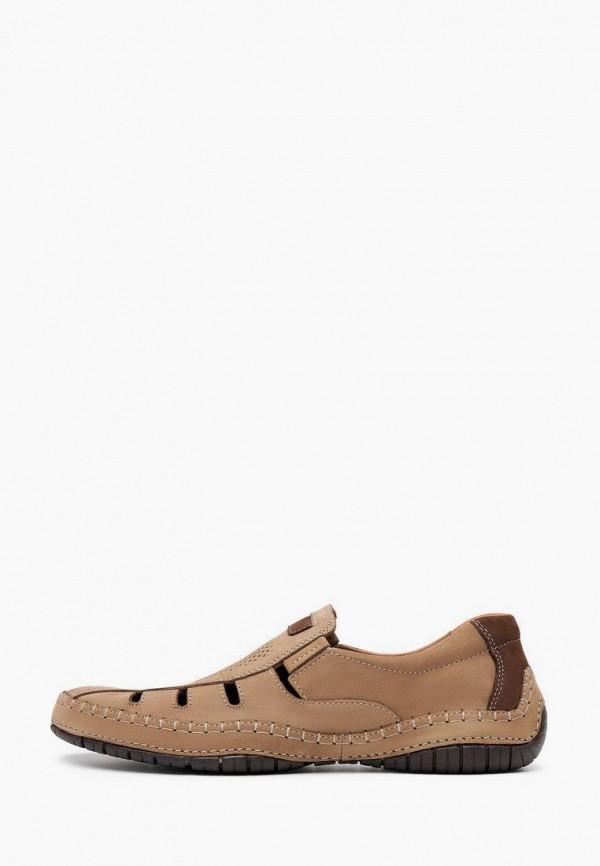 мужские низкие ботинки alessio nesca, бежевые