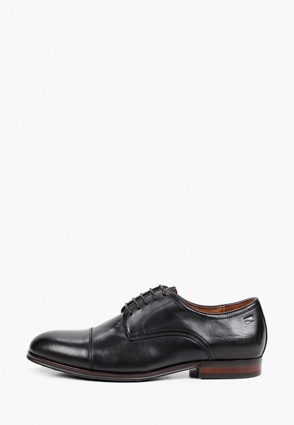 мужские ботинки thomas munz, черные