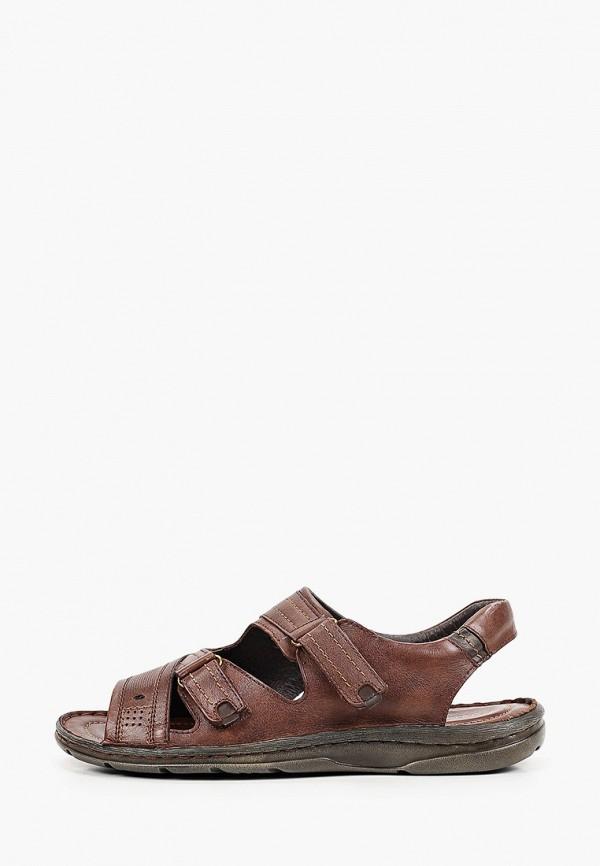 мужские сандалии thomas munz, коричневые