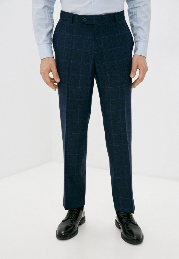 мужские зауженные брюки bazioni, синие