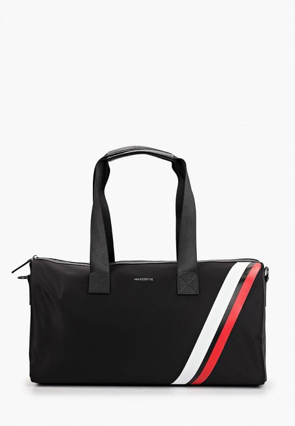 мужская спортивные сумка mascotte, черная