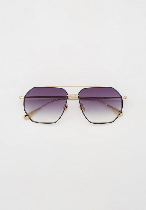 мужские квадратные солнцезащитные очки baldinini, серебряные