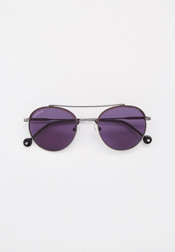 мужские круглые солнцезащитные очки baldinini, серые