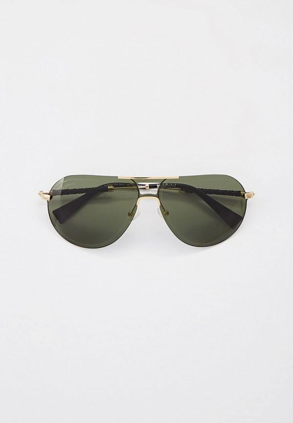 мужские авиаторы солнцезащитные очки baldinini, золотые