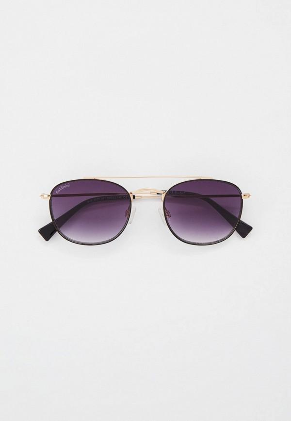 мужские круглые солнцезащитные очки baldinini, золотые