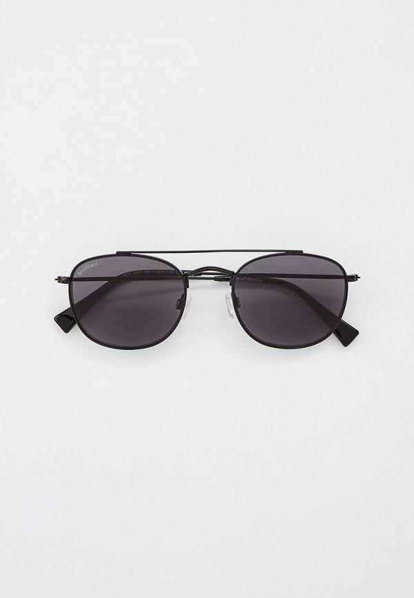 мужские круглые солнцезащитные очки baldinini, черные