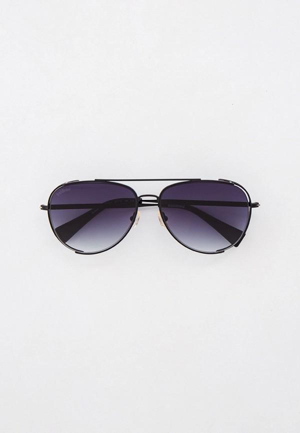 мужские авиаторы солнцезащитные очки baldinini, черные