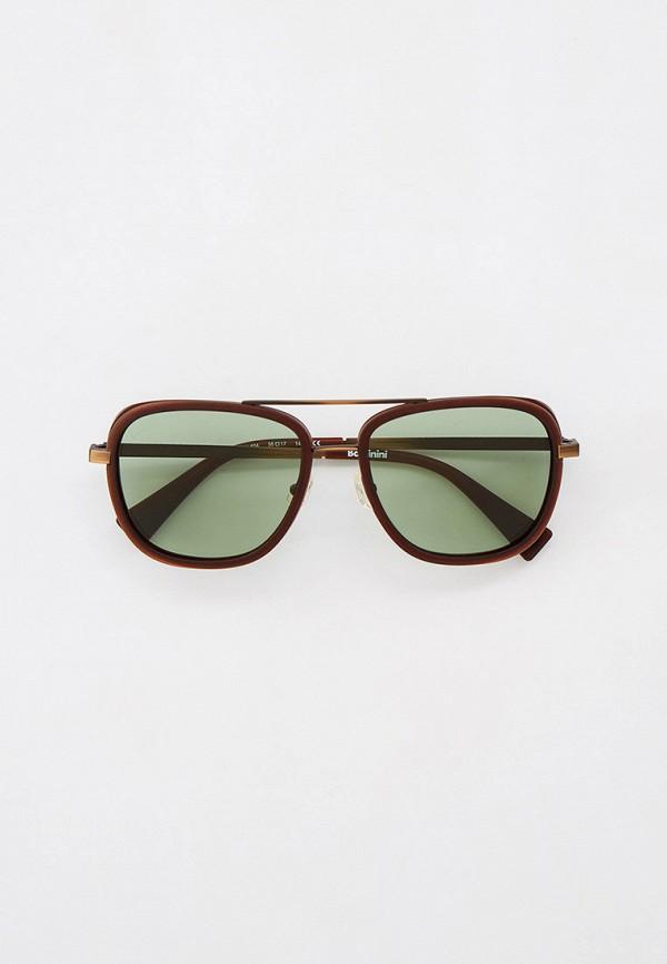 мужские квадратные солнцезащитные очки baldinini, коричневые