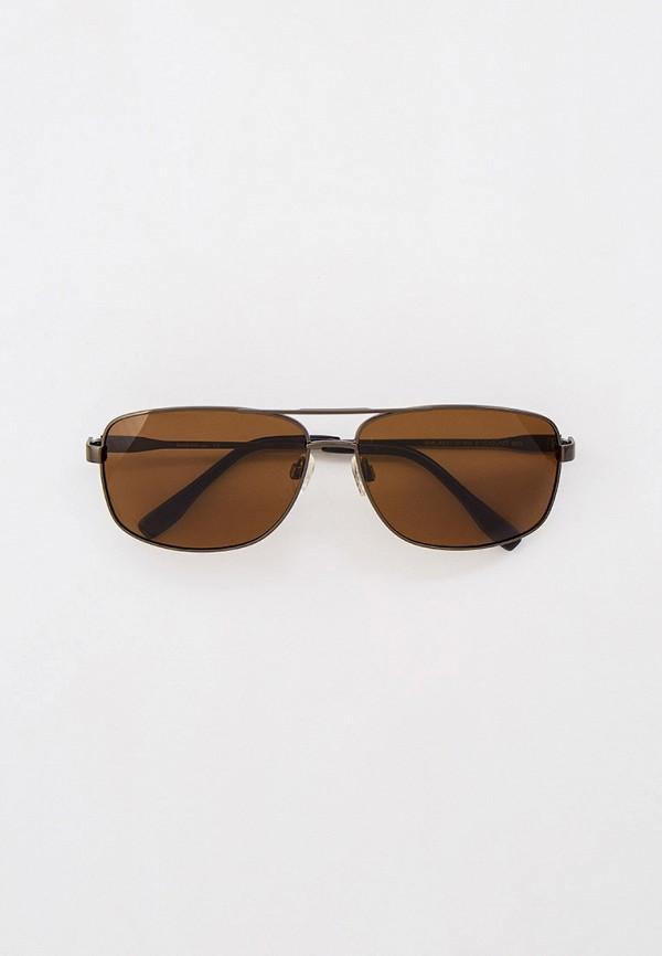 мужские квадратные солнцезащитные очки baldinini, черные