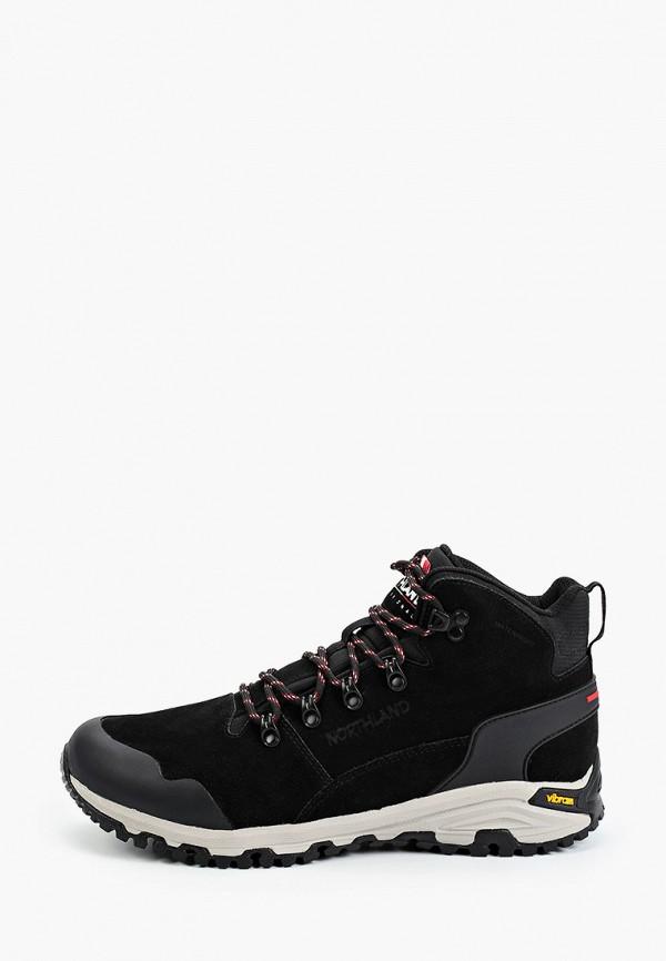 мужские ботинки northland, черные