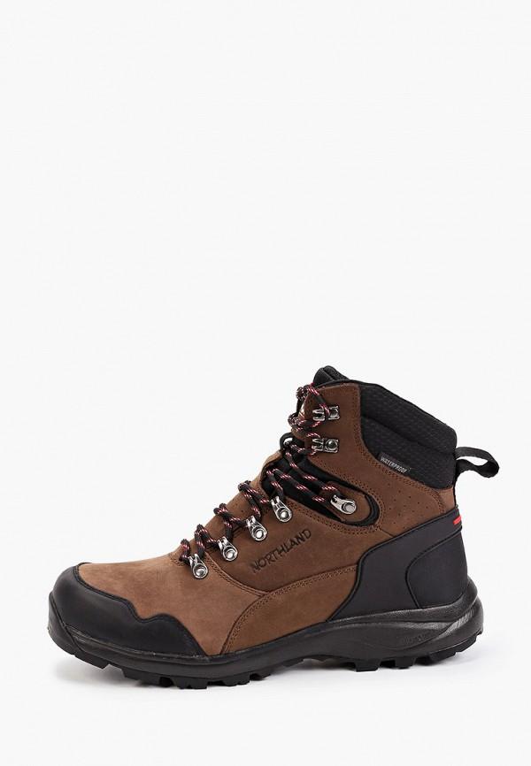 мужские ботинки northland, коричневые