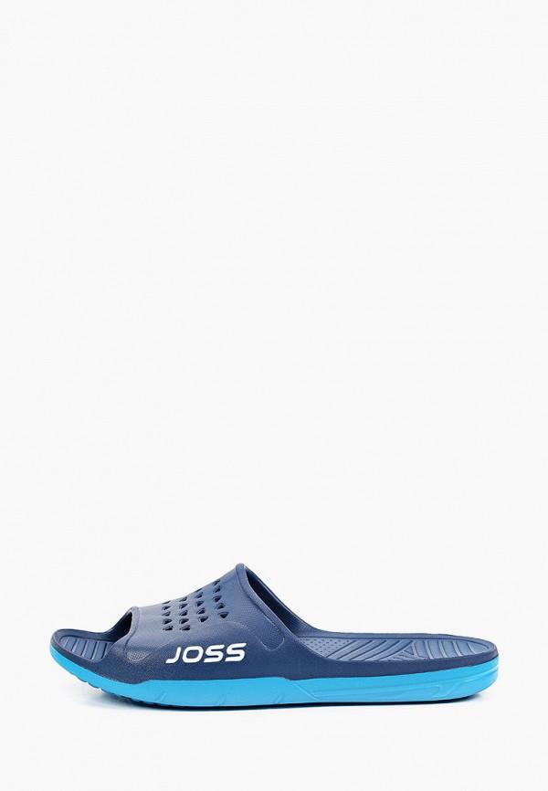мужские сланцы joss, синие