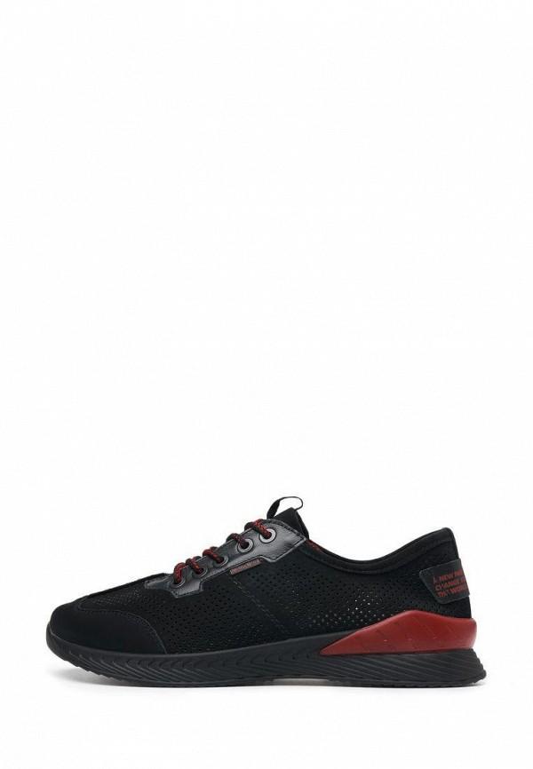 мужские низкие кроссовки alessio nesca, черные