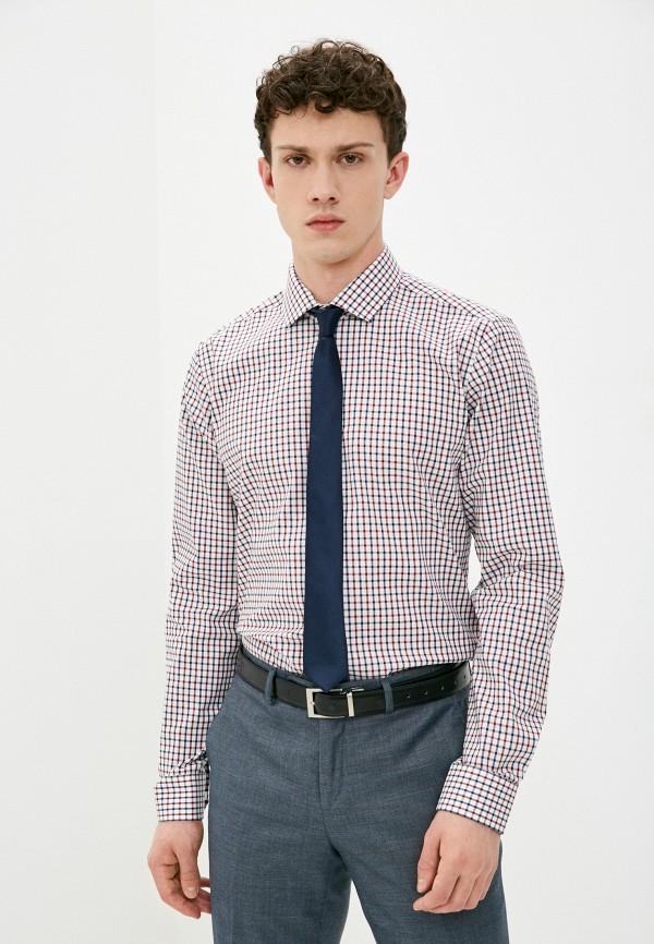 мужская рубашка с длинным рукавом henderson, белая