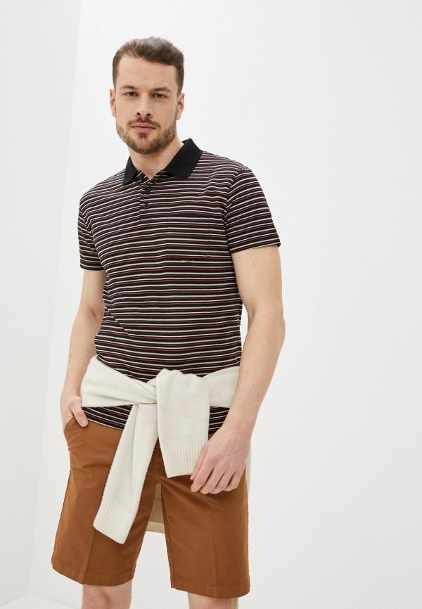 мужское поло с коротким рукавом baon, разноцветное