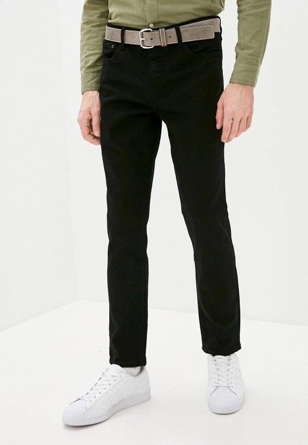 мужские зауженные джинсы lyle & scott, черные