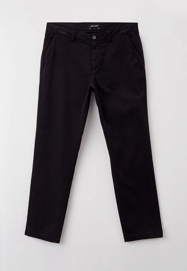 мужские повседневные брюки lyle & scott, черные