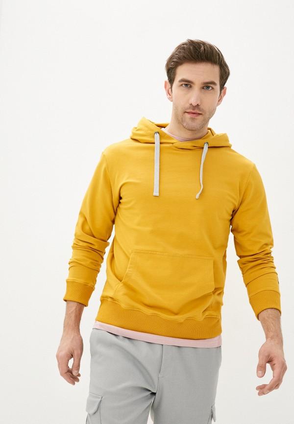 мужские худи baon, оранжевые