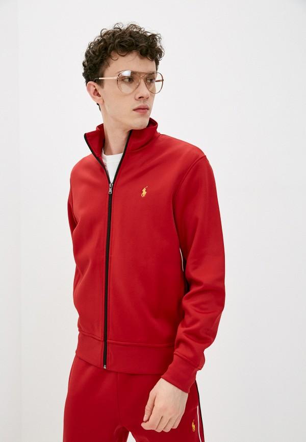 мужская олимпийка polo ralph lauren, красная