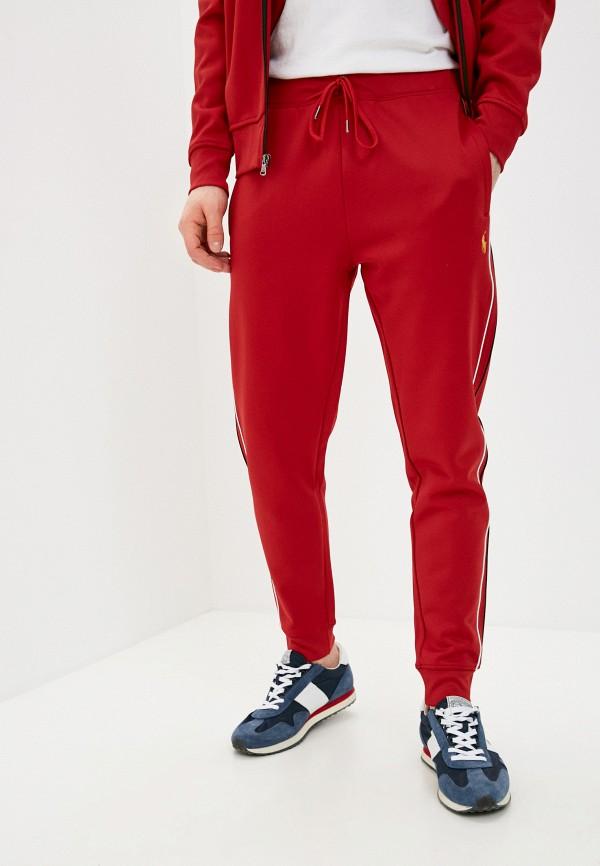мужские спортивные брюки polo ralph lauren, красные