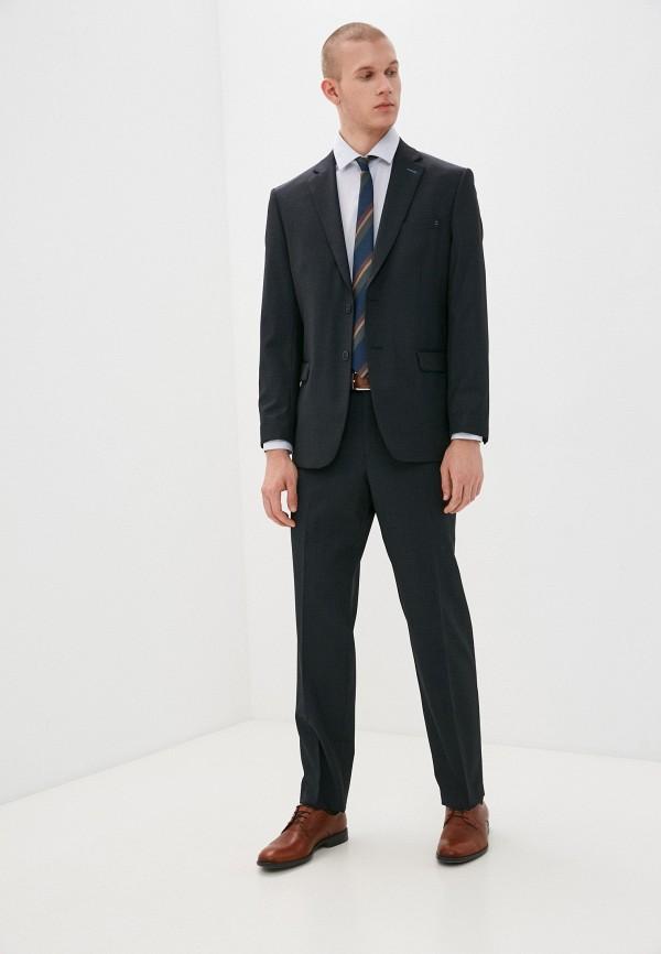 мужской костюм bazioni, черный