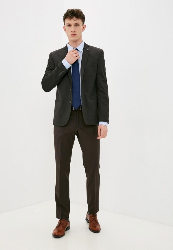 мужской классические костюм bazioni, коричневый