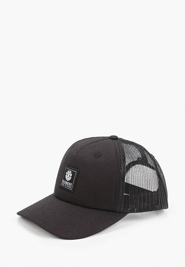 Бейсболка Element черного цвета