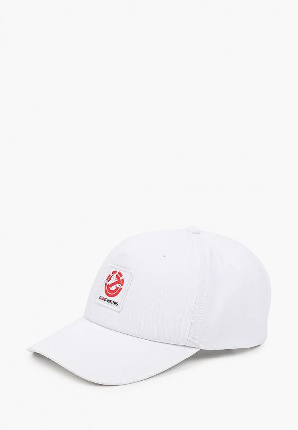 Бейсболка Element белого цвета