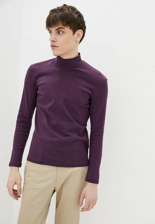 мужская водолазка promin, фиолетовая
