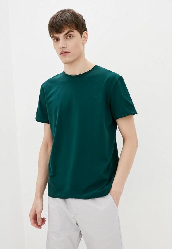 мужская футболка с коротким рукавом promin, зеленая