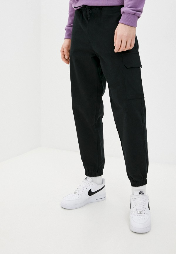 мужские брюки карго mark formelle, черные