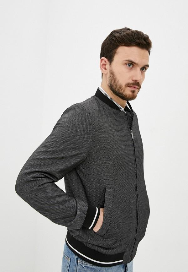 мужская куртка бомбер o'stin, серая