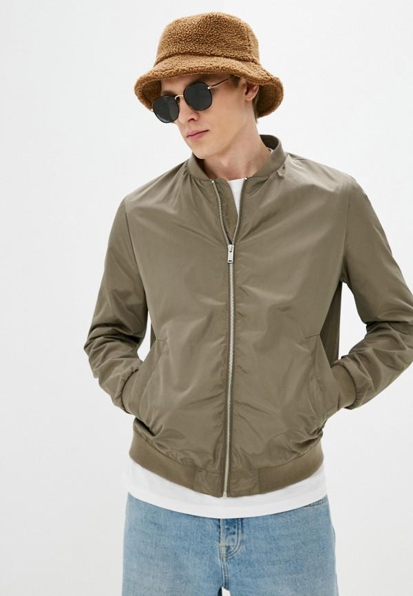 мужская куртка бомбер o'stin, хаки