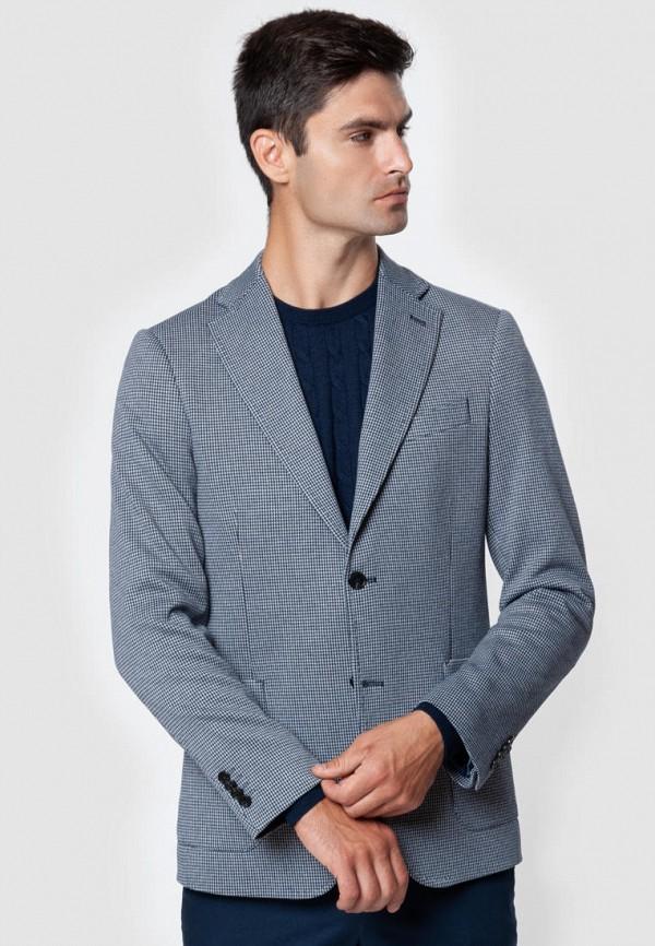 мужской пиджак arber, голубой