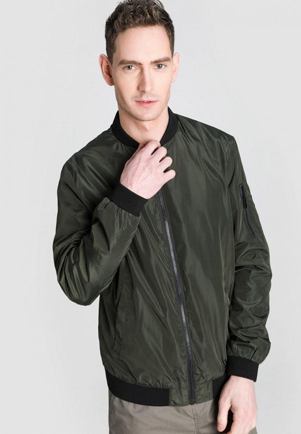 мужская куртка o'stin, зеленая
