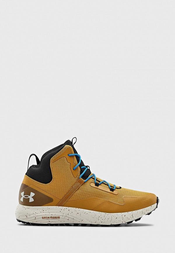 мужские ботинки under armour, желтые