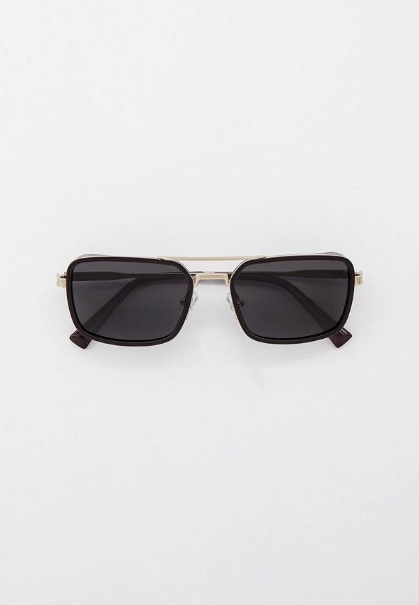 мужские квадратные солнцезащитные очки matrix, серебряные